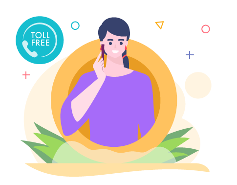 use toll-free numbers to resolve customer issues on the go