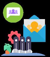 Send bulk messages to big groups