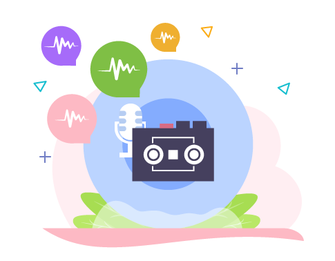 Reach customers with pre-recorded voice announcements