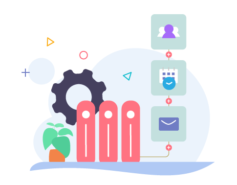 Automated email workflows