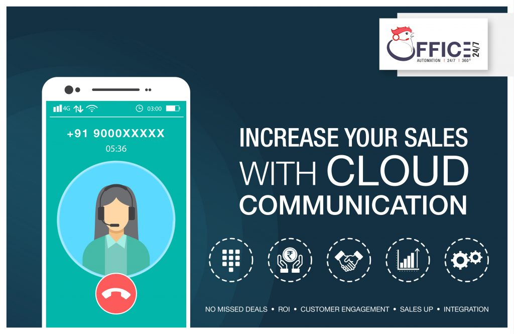 increase your sales with cloud communication