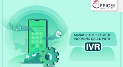 how an IVR solution helps to manage the flow of incoming calls